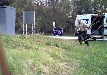 Postal Worker Caught Stealing Trump Signs — But We Can Trust Them With Our Votes