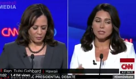 Flashback: Watch Tulsi Gabbard Destroy Party Favorite Kamala Harris – And Expose Her Record as Dirty Prosecutor