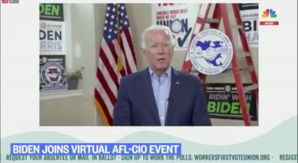 """It's Obvious that Joe is Reading the Answers Off the TelePrompter"" – President Trump Accuses of Joe Biden of Being Given Answers to Media Questions (VIDEO)"