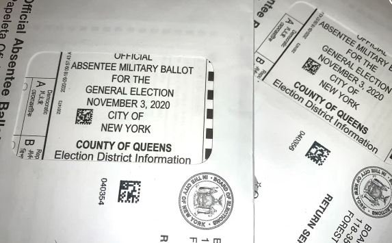 New York City Voters Receive Mail-in Ballots Marked for Military Use Despite Never Serving in the US Military
