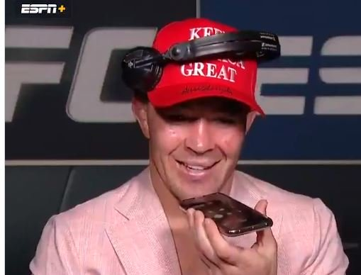 """Thank You, Sir. You Gave Me the Dragon Energy"" — President Trump Calls MMA Champ Colby Covington After His Victory (VIDEO)"
