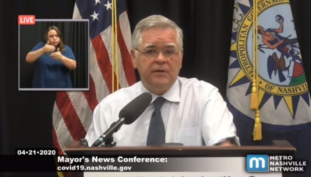 STUNNING! Emails Reveal Nashville Mayor's Office Colluded with Metro Health to Hide Actual COVID Numbers from Citizens-Business Owners because They Were So Low!