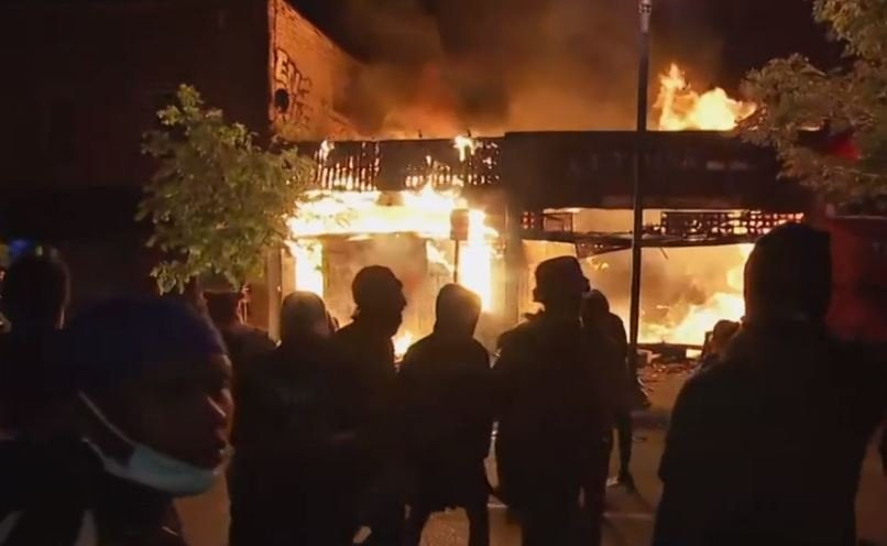 Building Owner Pulls Out of Contract on Minneapolis Police Precinct Location after Black Lives Matter Thugs Vandalize Building then Threaten His Home