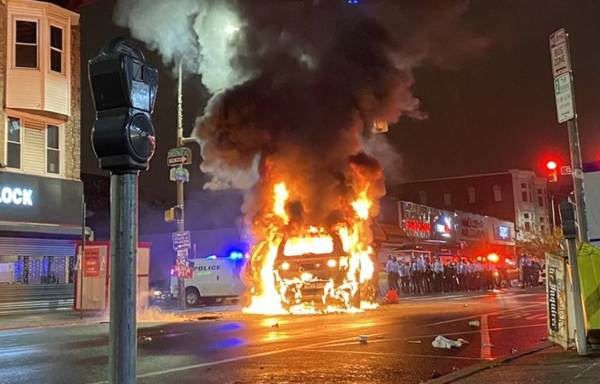 CHAOS IN PHILLY: Shops and Police Vehicle Looted During Black Lives Matter Riot — Fires, Officer Down, Police 'Lost Control of 52nd Street' (VIDEOS)