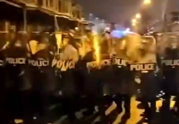 BREAKING: Riot Erupts in Philadelphia After Black Male is Shot By Police While Charging at Them With a Knife (VIDEOS)