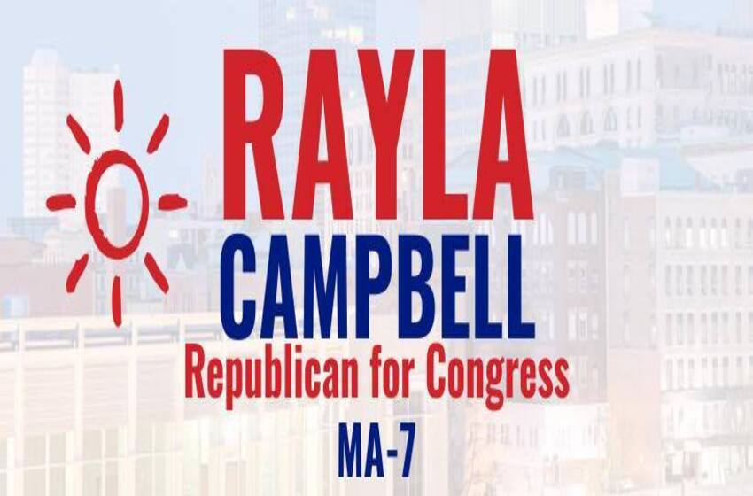 Rayla Campbell for Congress (R) to take on Ayanna Pressley  (D) the squad