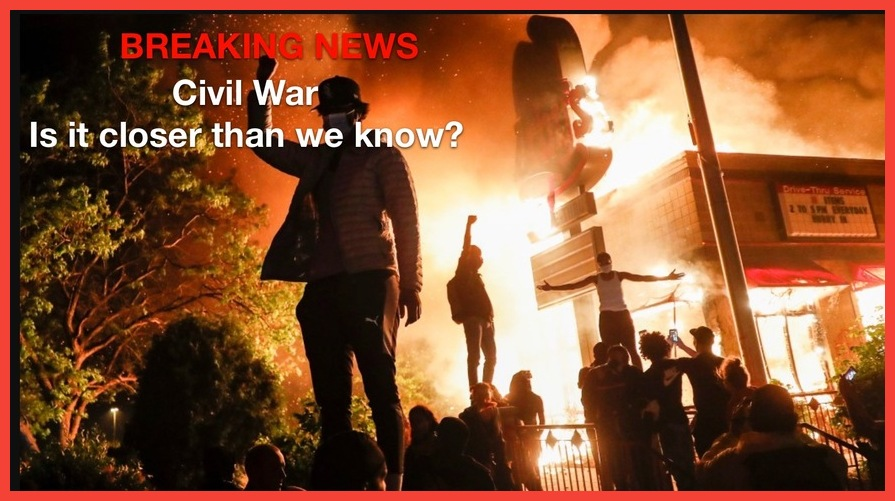 BREAKING NEWS!  BREAKING! Civil Unrest Maybe Closer Than We Know