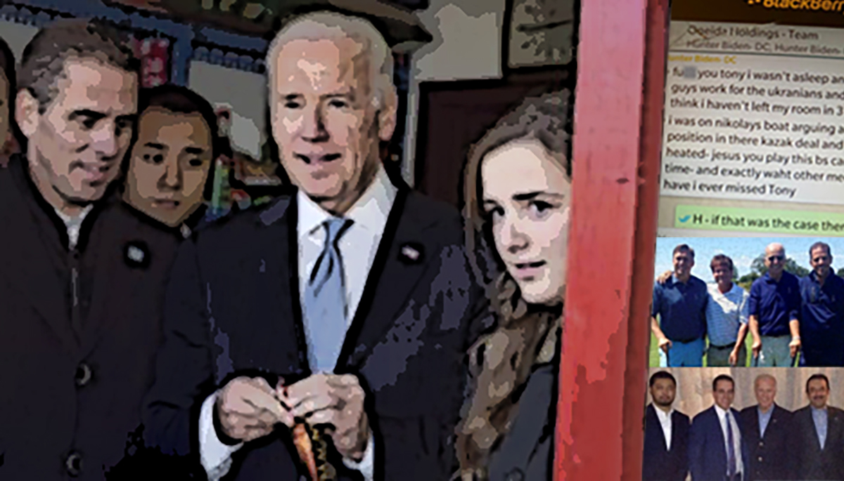 EXCLUSIVE: Seamus Bruner Provides Comprehensive Roadmap to Biden Family Corruption and Documents How VP Joe Biden Compromised U.S. National Security While Biden Family Profited from Deals with America's Enemies