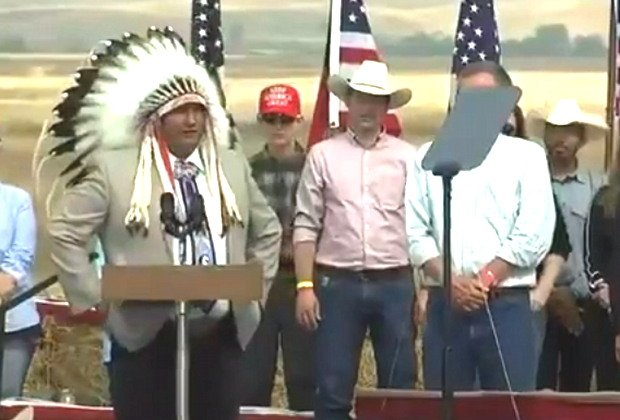 Trump And Pence Get Endorsement Of Native American Leader (VIDEO)