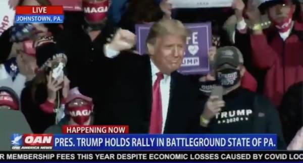 "EPIC! President Trump Dances to ""YMCA"" After Massive Rally in Johnstown, Pennsylvania (VIDEO)"