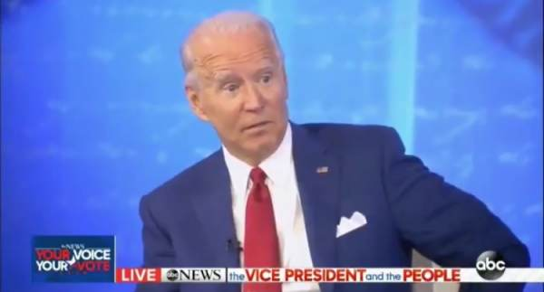 """THERE IT IS: Joe Biden Admits During Town Hall """"I'm Open"""" to Packing Supreme Court (VIDEO)"""