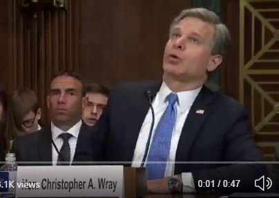 CONFIRMED: FBI Chief Chris Wray Hid Information from the Public, Congress and Executive Branch that Absolved President Trump During Impeachment (VIDEO)
