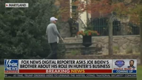 FOX News Reporter Confronts Jim Biden Outside his Multi-Million Dollar Home on the Biden Family Scandals (VIDEO)