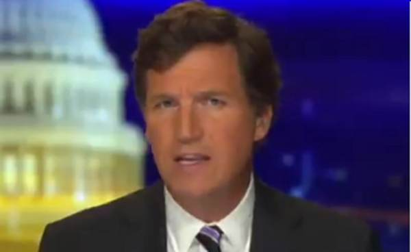 WATCH: Tucker Carlson Throws Not-So-Subtle Dig at Fox News and Neil Cavuto For Cutting Away From Trump Campaign Press Conference