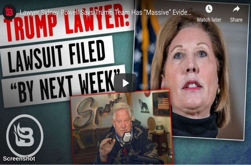 "Lawyer Sidney Powell Says Trump Team Has ""Massive"" Evidence, Lawsuits Coming SOON 