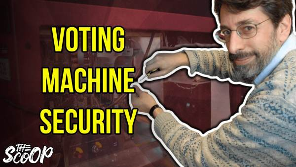 WATCH: Computer Science Professor Warned About Voting Machine Security Flaws In 2017 (VIDEO)