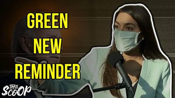 WATCH: AOC Demands Joe Biden To Enact Policies From The Green New Deal (VIDEO)
