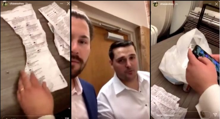 What These Two Men Found In The Trash After A Wedding Reception In A Closed Polling Place Is Stunning [VIDEO]