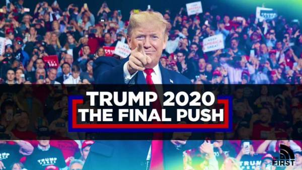 WATCH LIVE ON RSBN: President Trump's Final Election Eve MAGA Rally in Grand Rapids, Michigan – Air Force One Touched Down at 11:30 PM EST