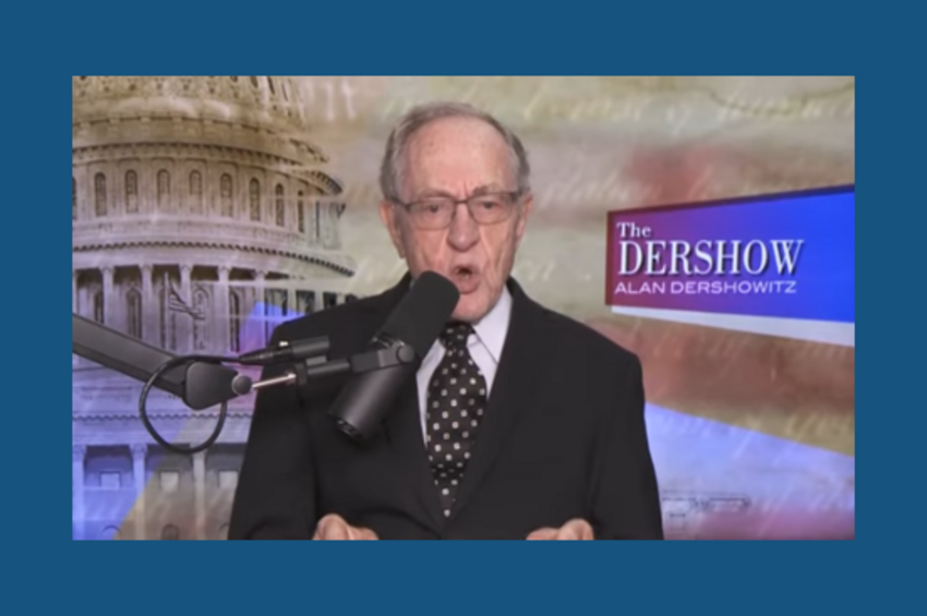 Alan Dershowitz: 'I Challenge YouTube to Take This Show Off Your Site' for Violating Your Election-Debate Restrictions