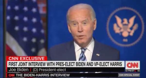 Who Actually Believes This BS Story? Joe Biden Explains How He Broke His Foot in Interview with CNN (VIDEO)