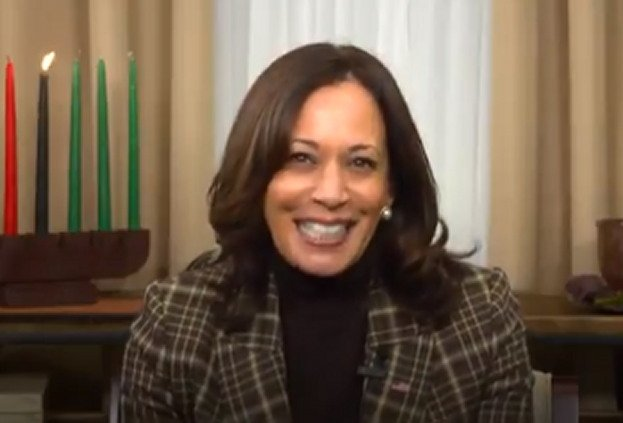 Kamala Harris Releases Bizarre Video Claiming Her Family Has Celebrated Kwanzaa Since Her Childhood