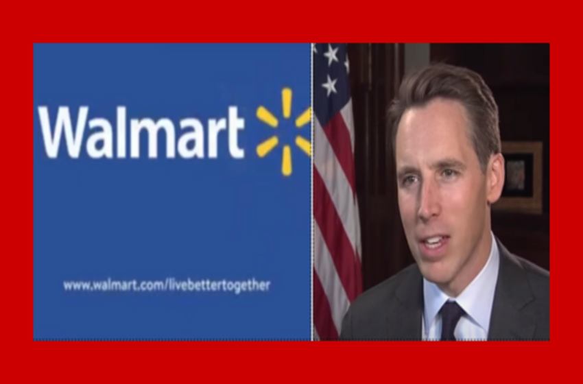 SLAM! Sen. Josh Hawley Dunks on Walmart for Attacking His Election Objection