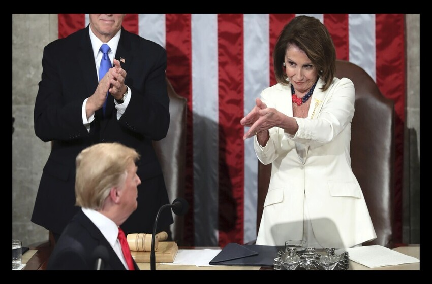 Pelosi says she plans to 'pull' Trump from White House 'by his hair'