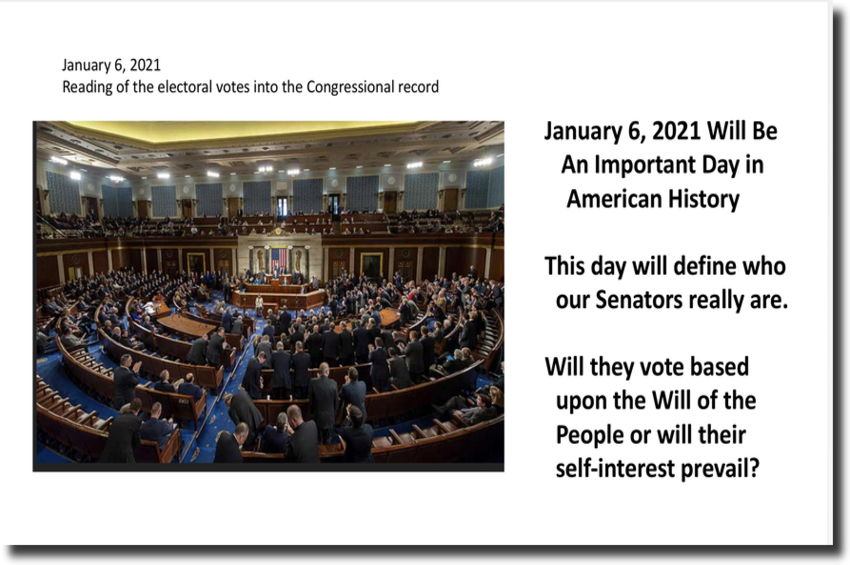 January 6, 2021 Will Define Who Our Senators Really Are
