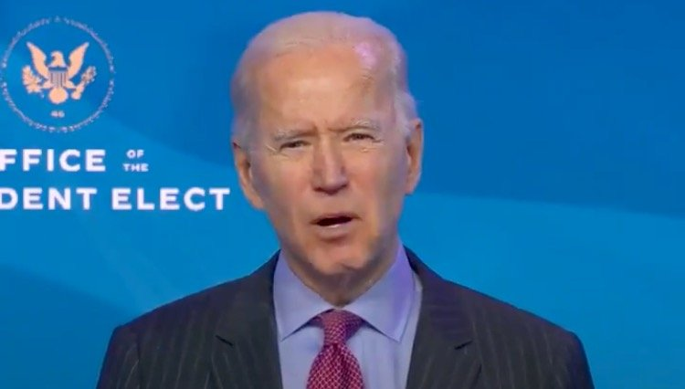 Whites Need Not Apply: Biden Says His Priority Will Be to Help Blacks, Latinos, Asians and Native Americans Reopen and Rebuild Their Small Businesses (VIDEO)