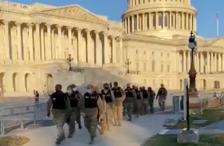 FBI Vetting National Guard Troops in DC Over Fears of 'Insider Attack' or Threat From Service Members Securing Biden Inauguration
