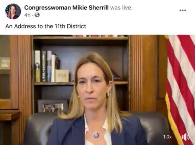 """Democrat Rep. Mikie Sherrill Accuses GOP Congressmen of Giving Rioters """"Reconnaissance"""" Tours the Night Before Capitol Stormed"""