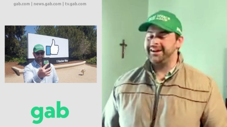 """GAB CEO: """"I had very close relationships with Facebook and Twitter…""""I got to see the evils of their business model for many years""""…""""What we're seeing in America right now is the rise of Communism"""" [VIDEO]"""