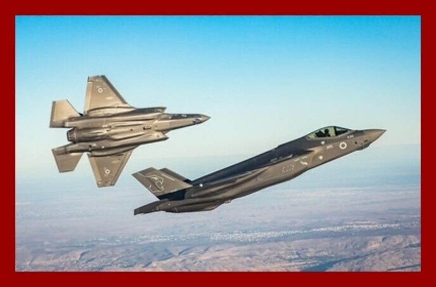 Stealthy F-35's Play a Lead Role in Israel's Shadow War on Terror