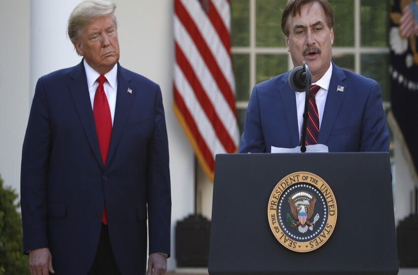 Mike Lindell 'the messenger' on voter fraud and replacing CIA director in White House meeting