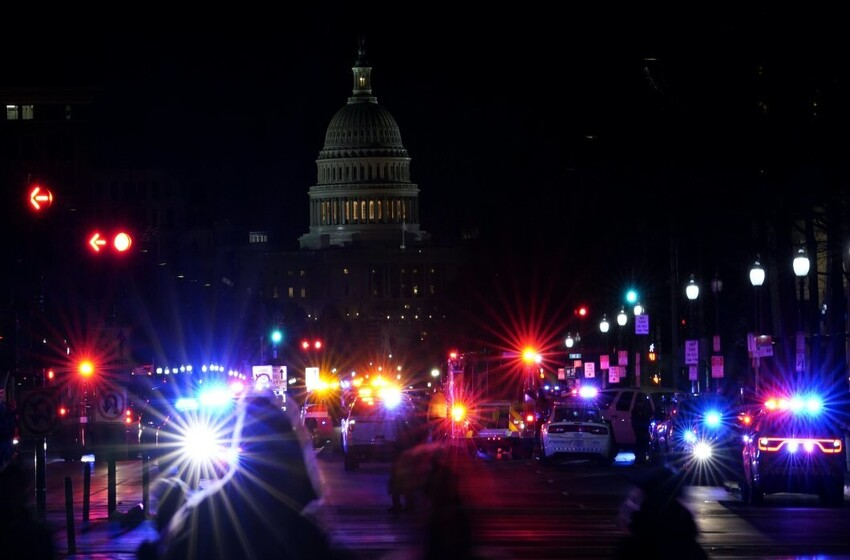Washington braces for unrest as level of threat unclear