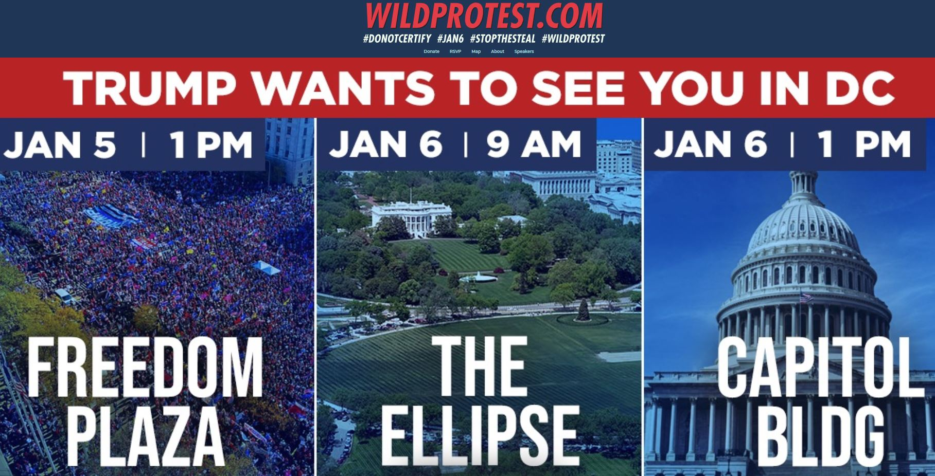 It's Going to Be HUGE! Join President Trump outside the White House on January 6th at the 'MARCH TO SAVE AMERICA'