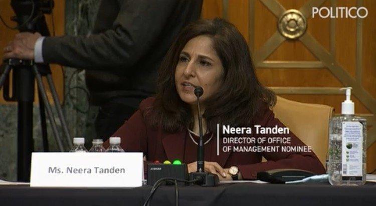 Biden's Toxic OMB Nominee Neera Tanden in Hot Water as Key Senators to Vote Against Her Confirmation