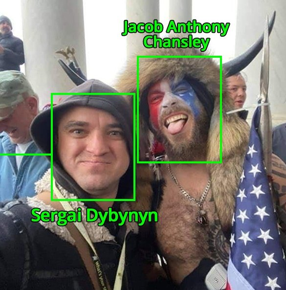 Neo-Nazi Ukrainians (Forefathers of Antifa) Instigated and Participated in the Capitol Hill Riot Alongside Antifa