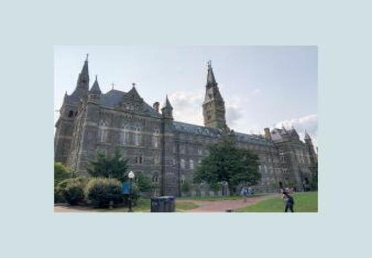 Georgetown Law Prof Fired for Telling the Truth