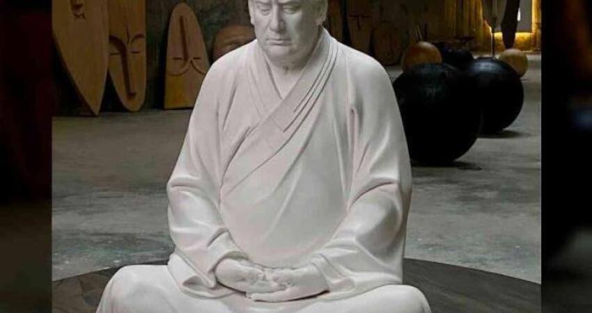 'Trump Buddha' Statue Sells Out after Chinese Sculptor Lists Online