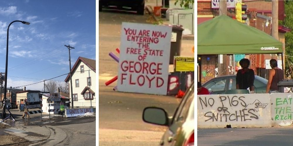 """Shooting Near """"George Floyd Autonomous Zone"""" in Minneapolis Leaves One Person Dead Days Before Officer Chauvin Trial"""