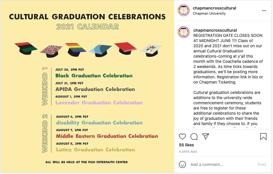 California University to Hold Segregated 'Cultural Graduation' Ceremonies Based on Race and Identity