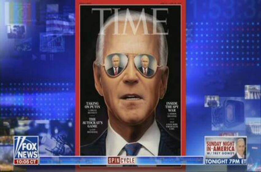 Fox News Calls Out Media's Doting Praise of Biden on Russia for Nothing