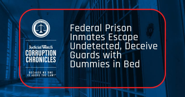 Federal Prison Inmates Escape Undetected, Deceive Guards with Dummies in Bed