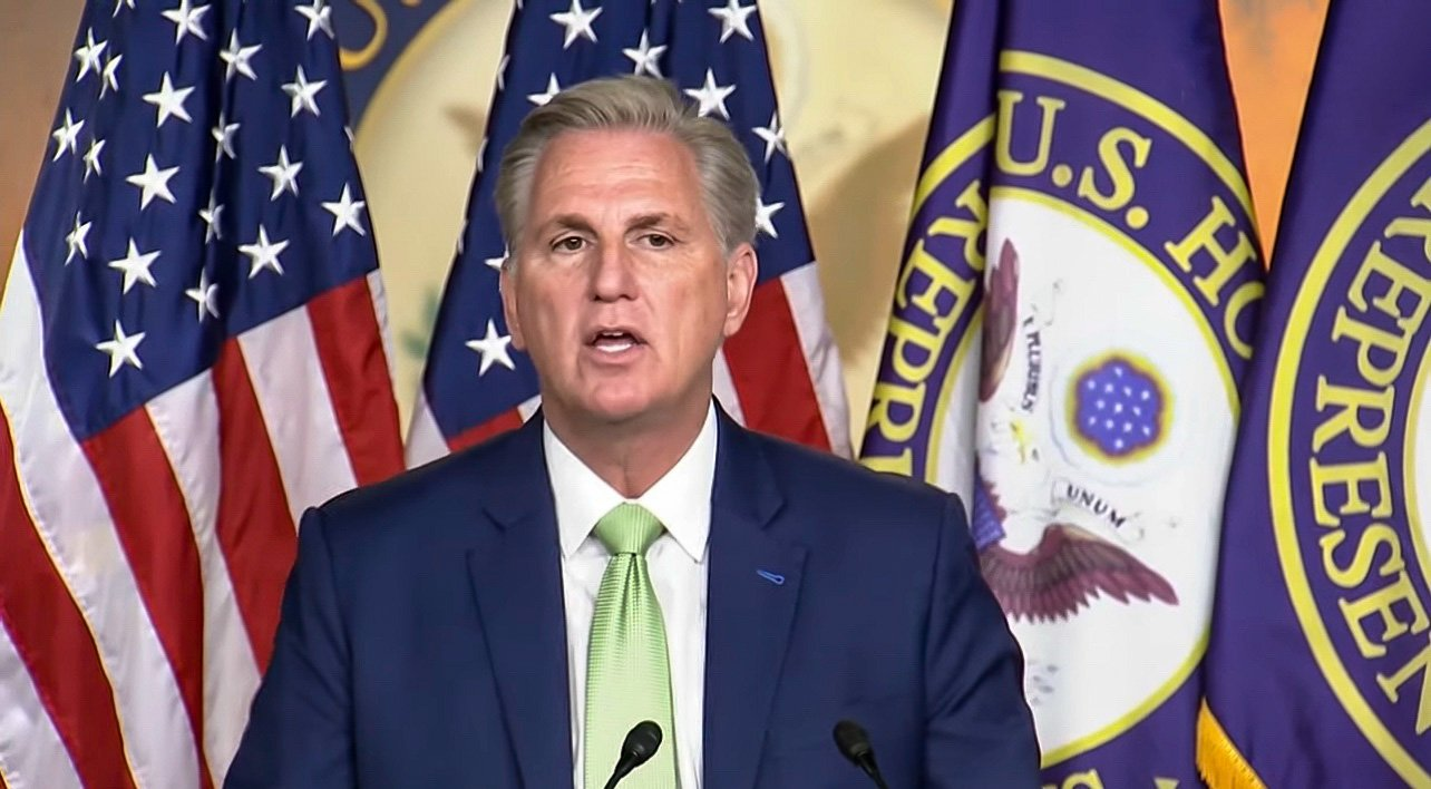 Weak Kevin McCarthy Threatens to Remove Liz Cheney and Republicans from Committee Assignments for Joining Pelosi's Jan. 6 Witch Hunt