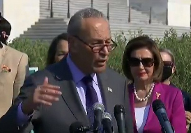 Chuck Schumer Says Climate Crisis Will Be Worse Than COVID Unless Dems Pass Infrastructure Bill (VIDEO)
