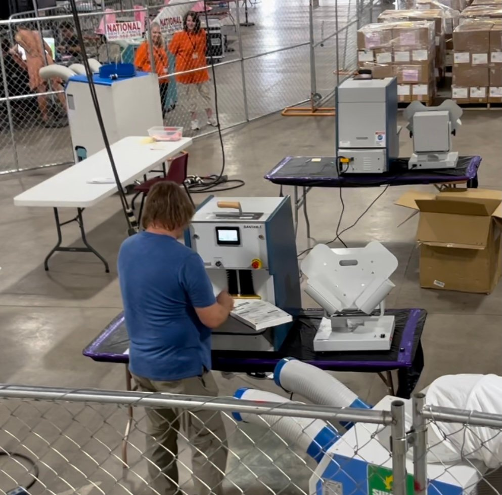 Arizona Audit Update: New Machines In Use With New Equipment