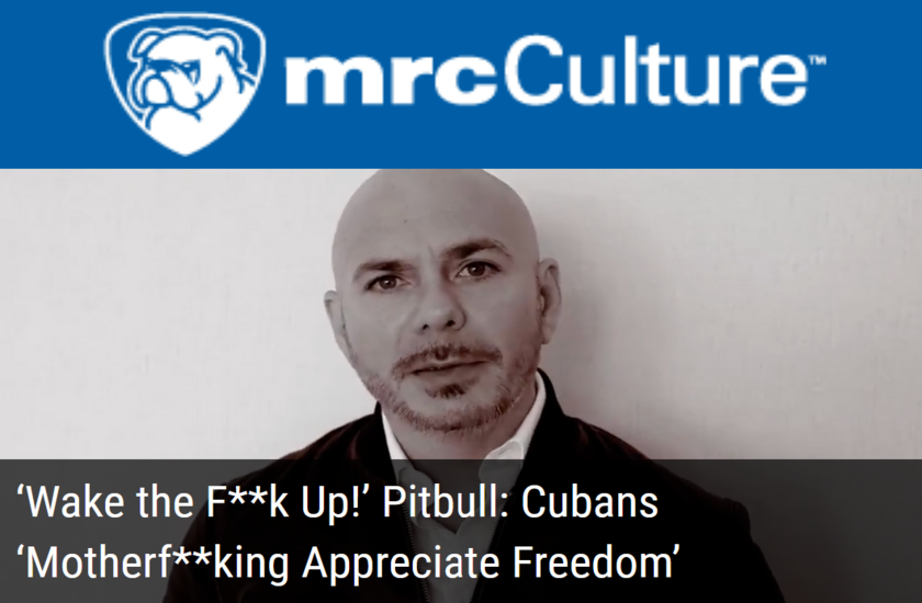 'Wake the F**k Up!' Passionate Pitbull: Cubans 'Motherf**king Appreciate Freedom'