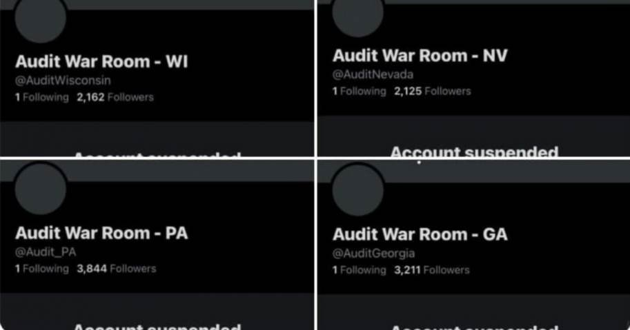 Breaking: Twitter Suspends All Election Audit 'War Room' Accounts; Senator Wendy Rogers Predicts She Will Be Next